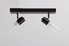 Люстра потолочная на 2 лампы 06-8627/2 BR+WT, фото 2
