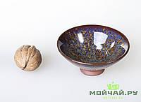 Чашка #6, конус, глина с глазурью., фото 1