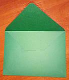 Конверт С6 зеленый 120гр, фото 2