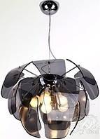 """Люстра подвесная """"Артишок"""" на 5 ламп Е27 стекло 6932/5"""