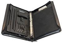 Папка-портфель деловая из искусственной кожи JPB Черный (AK-12)