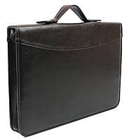 Папка-портфель из искусственной кожи Exclusive Черный (710400)