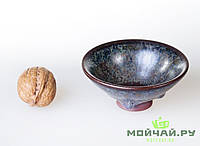 Чашка #11, конус, глина с глазурью., фото 1