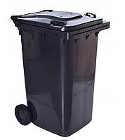 Контейнер для отходов 240 л (черный)