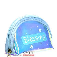 48111 кошелек-брелок KATTi малая Единорог полу-прозрачная отражающая овал 11х9х4см, фото 3