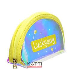 48111 кошелек-брелок KATTi малая Единорог полу-прозрачная отражающая овал 11х9х4см, фото 2
