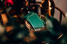 Карти гральні | NOC Out: Green & Gold Playing Cards, фото 3