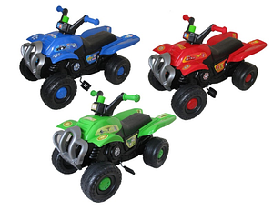 Детский квадроцикл на педалях ПОЛЬША