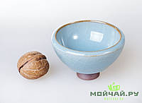 Чашка #16, глина с глазурью, Жу Яо, 65мл