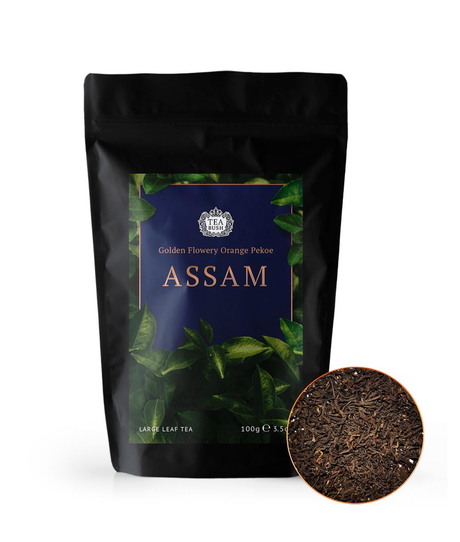 Чай черный Ассам gfop 100 грамм