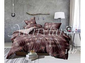 """Комплект полуторного постельного белья микрофибра арт. 1447 """"Merryland"""""""