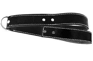 Тяга кожаная  для трицепса  R1 (натуральная кожа 3 мм), фото 2