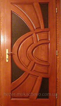 Двері міжкімнатні  з масиву, серія  Європа
