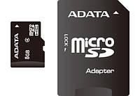 Карта памяти  MicroSD 8 Gb class 4