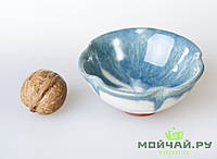 Чашка #17, лотос, глина с глазурью, 80мл., фото 1