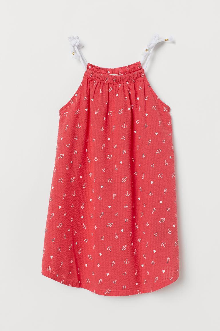 Летнее красное платье H&M р.92, 140см.