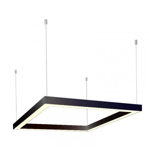 Светильник подвесной линейный LED   LS -640  120W 4500K, 220В IP20 черный  640*640мм