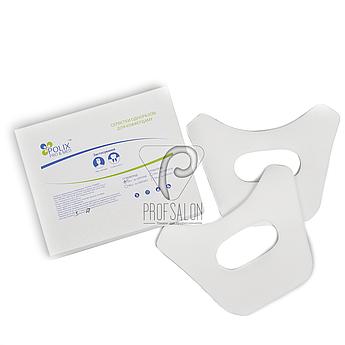 Стоматологические материалы, салфетки под коффердам 50шт в упаковке, гигиенические, из нетканого спанбонда