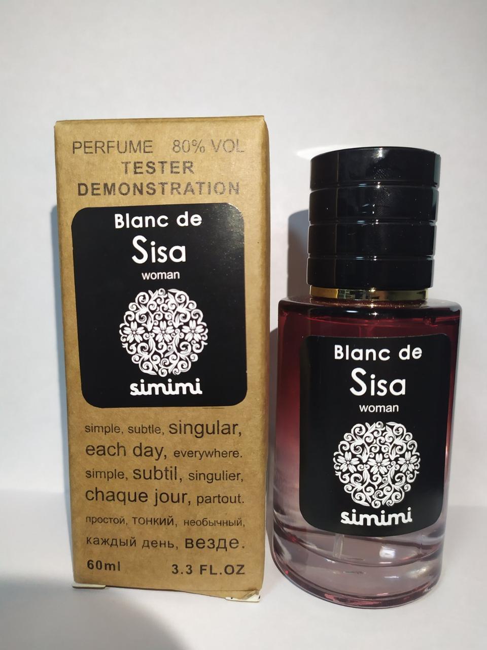 Тестер женский Simimi Blanc de Sisa 60 мл