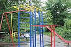 Игровой комплекс для детей на улицу с горкой и качелями, фото 7