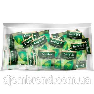 Чай Гринфилд, Грин Мелисса , зеленый, 100 пакетиков