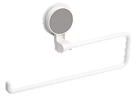 Тримач клейкий для паперових рушників BP-10, пластиковий білий