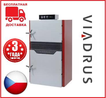 Чугунные пиролизные котлы Viadrus Hefaistos P1 30, 40, 49,5-100 кВт