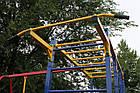 Игровой комплекс для детей на улицу с горкой и качелями, фото 9