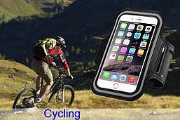 Спортивный карман на руку для телефонов 5.3''-6.0''