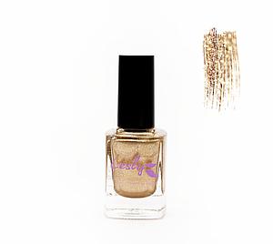 Лак для стемпинга Lesly -  Shimmer Gold