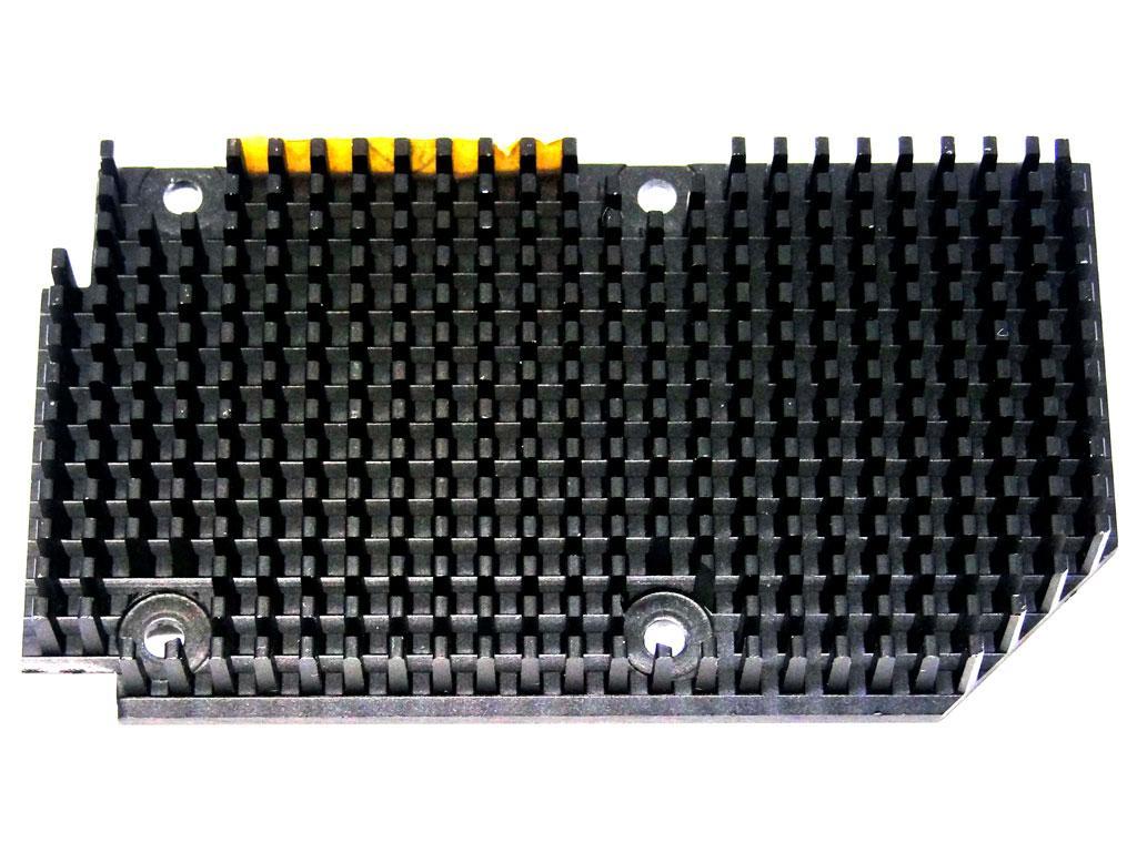 Радіатор алюмінієвий для відеокарти x 95мм 53мм