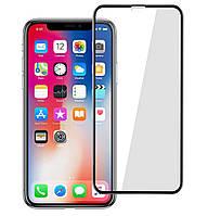 Защитное стекло 5D Full Glue для IPhone 11 Pro Max Black (Screen Protector 0,3 мм)