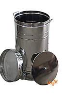 Бак отстойник для меда с нержавеющим фильтром 35 л, фото 1