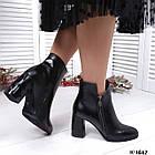 Демисезонные женские ботильоны черного цвета, натуральная кожа 37, 39 ПОСЛЕДНИЕ РАЗМЕРЫ, фото 3