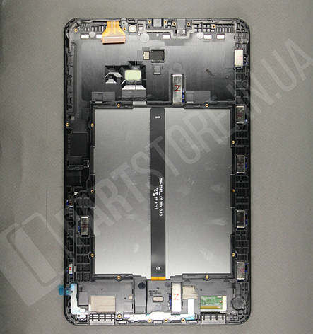 Дисплей Samsung T585 Tab A 10.1 Black (GH97-19022A) сервисный оригинал в сборе с рамкой, фото 2