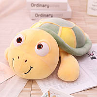 Мягкая игрушка - подушка Веселая черепашка, 45см Berni