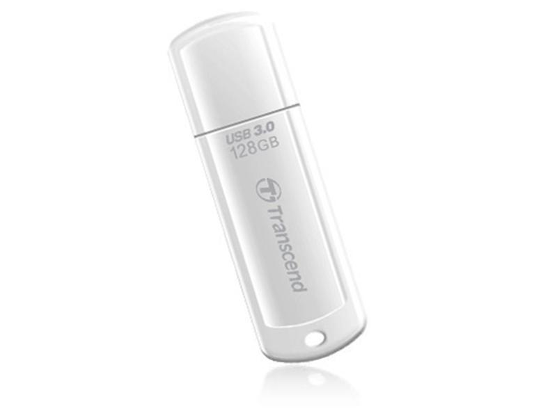 Флеш-накопитель USB3.0 128GB Transcend JetFlash 730 White (TS128GJF730)