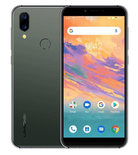 Смартфон UMIDIGI A3S Green