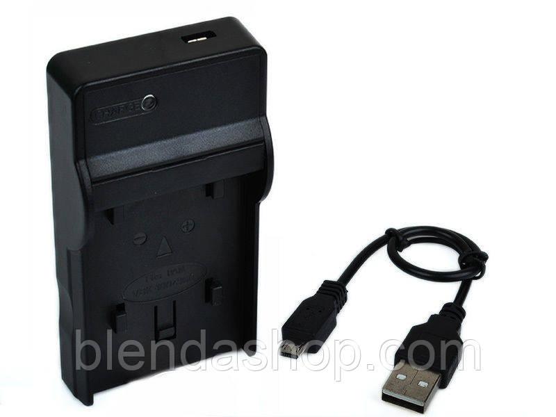 Зарядное устройство  c micro USB CB-2LCE - аналог для CANON (батарея NB-10L)