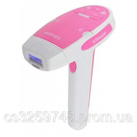 Фотоэпилятор - лазерный эпилятор Umate T-006 Розовый (DS-880), фото 2