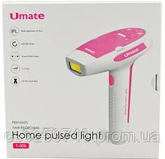 Фотоэпилятор - лазерный эпилятор Umate T-006 Розовый (DS-880), фото 3