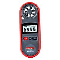 Анемометр 0,7-30м/с, -10-45℃. Wintact WT816A