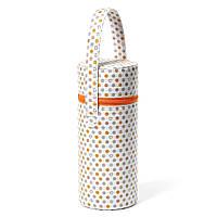 Термоупаковка для пляшечок Білий з сердечками BabyOno 604