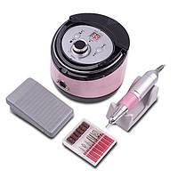 Фрезер для маникюра Nail Drill ZS-606 Pink
