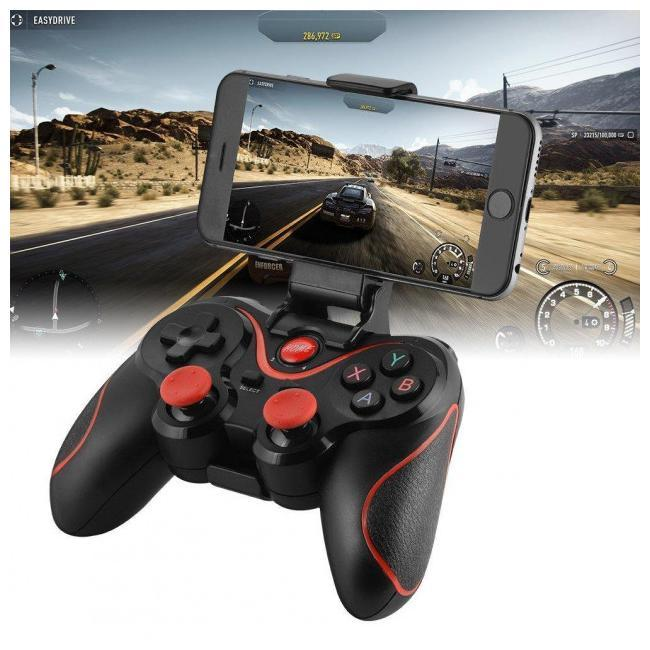 Беспроводной джойстик геймпад Terios X3 Bluetooth для смартфона, Android, Tv Box,iOS Лучшая цена!