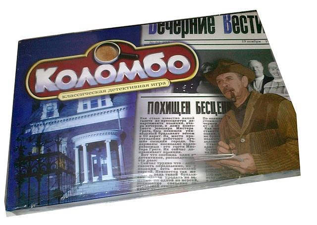 """Настольная игра """"Коломбо"""""""