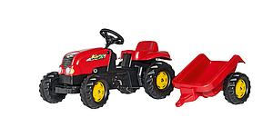 Дитячий трактор на педалях, веломобіль ROLLY TOYS