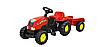 Детский трактор на педалях, веломобиль  ROLLY TOYS, фото 2
