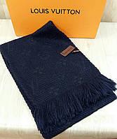 Шарф Louis Vuitton темно-синий
