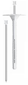 Дюбель для крепления изоляции с металлическим стержнем с термоголовкой LDK/TZ EasyFix